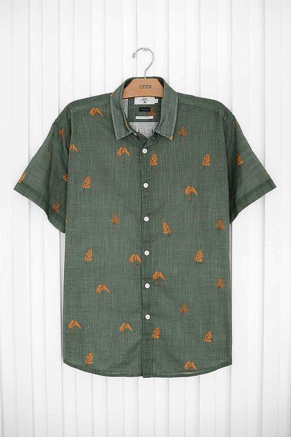 Camisa M/C Planta