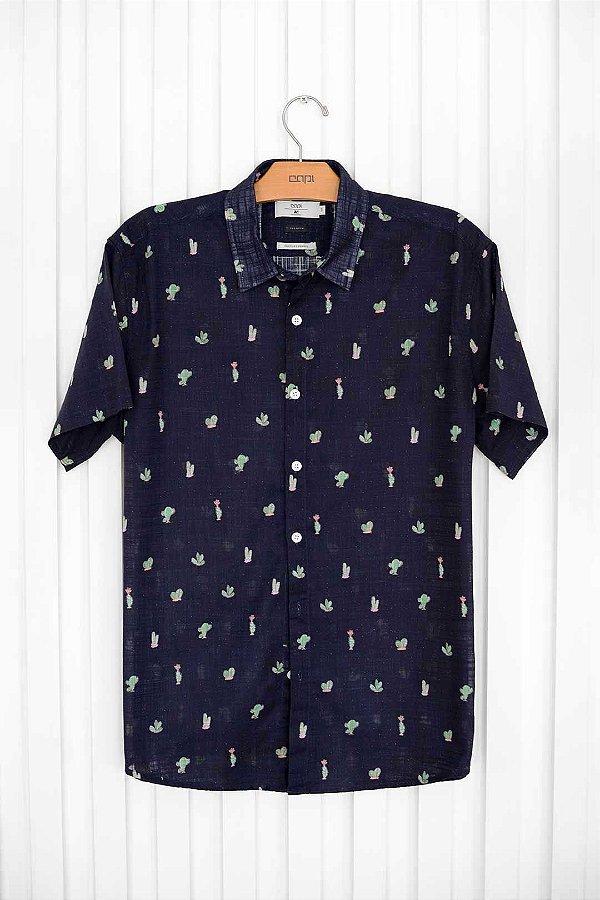 Camisa M/C Cactos