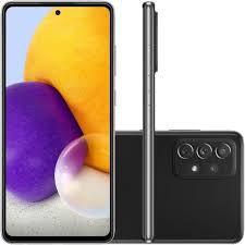 Celular Samsung  Galaxy A72 128GB 4G Wi-Fi Tela 6.7'' Dual Chip 6GB RAM Câmera Quádrupla + Selfie 32MP - Preto