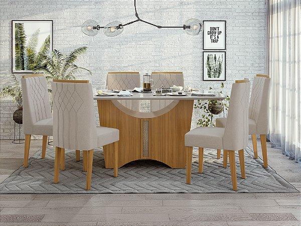 Sala de Jantar Rock Plus 170 x 090 c/ cadeira Exclusive
