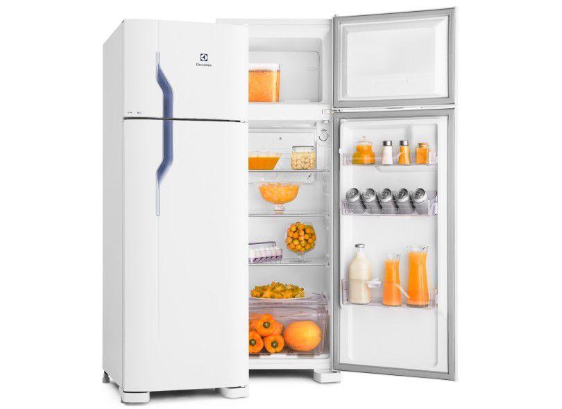 Refrigerador Electrolux Cycle Defrost 260 Litros Branco DC35A - 110V