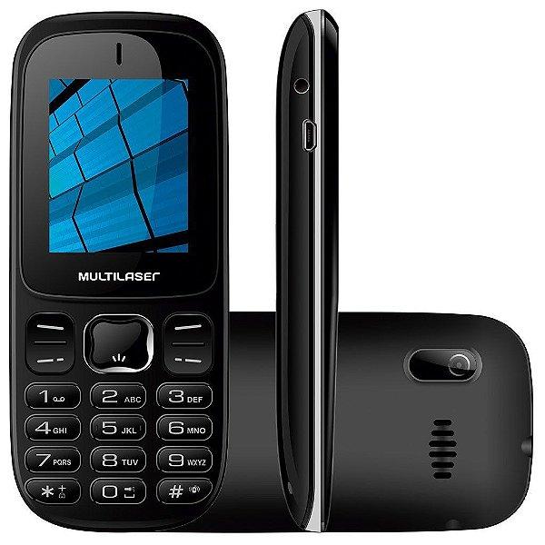 CELULAR MULTILASER BARRA 3G PRETO P9017