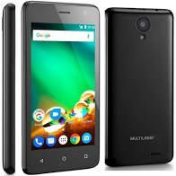 Smartphone Ms45 4g 8GB Multilaser Nb720 Preto Tela 4.5 Pol.