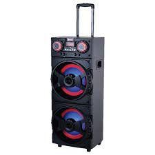 "Caixa Amplificada Amvox ACA 1001 Turbo Bluetooth, USB, Karaôke, Entr. p/ 2 Microfones, Subwoofer 12"", 1000W"