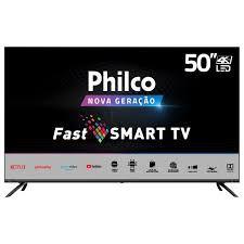 TV PHILCO 50 SMART 4K PTV50G70SBLSG CINZA BIV