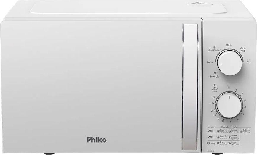 FORNO MICROONDAS PHILCO PMO23MB 127V