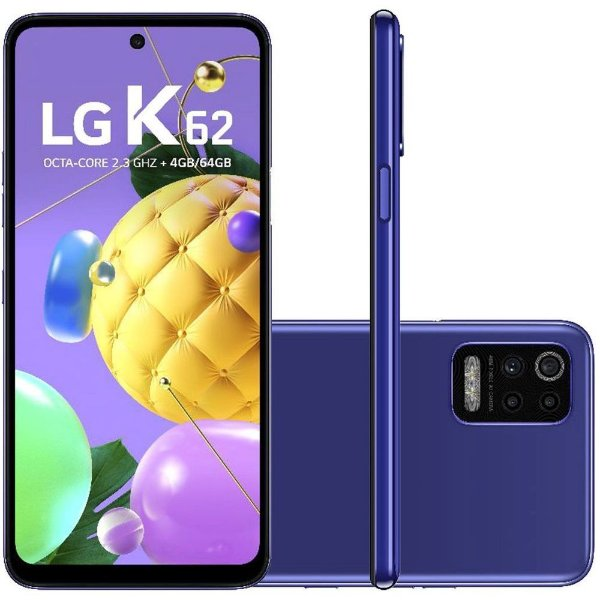 Celular  LG K62 64GB TELA 6.59 AZUL