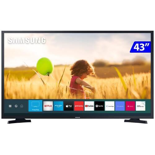 TV 43P SAMSUNG LED SMART TIZEN WIFI FULL HD - UN43T5300AGXZD