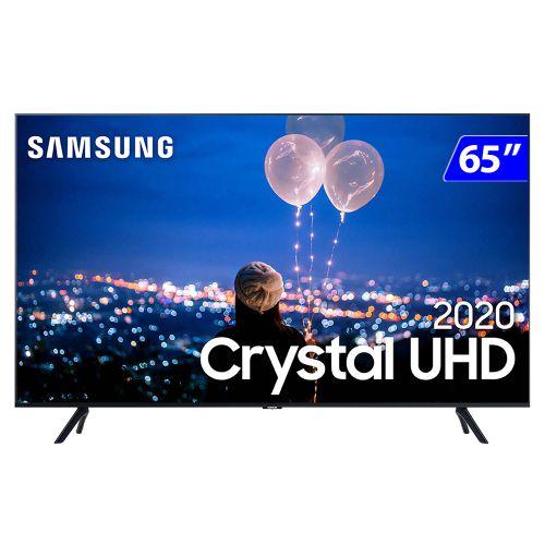 TV 65P SAMSUNG CRYSTAL SMART 4K COMANDO VOZ - UN65TU8000GXZD