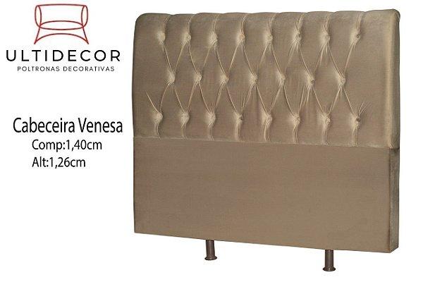 CABECEIRA ULTILDECOR VENESA 1.40CM CASAL