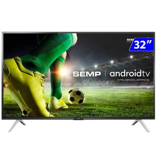 TV 32P SEMP LED SMART WIFI HD USB HDMI COMANDO DE VOZ (MH) - 32S5300S
