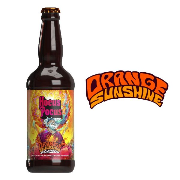 Orange Sunshine - American Blonde Ale com Laranja - 5% ABV - 500ml