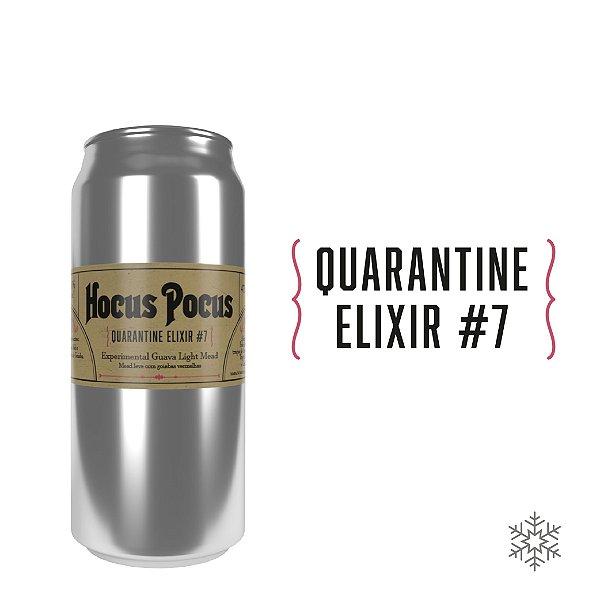 Quarantine Elixir #7 - Experimental Guava Light Mead - 6,6% ABV - 473ml - Apenas RJ