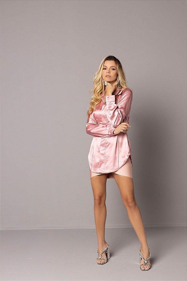 Camisa Rosa Penélope
