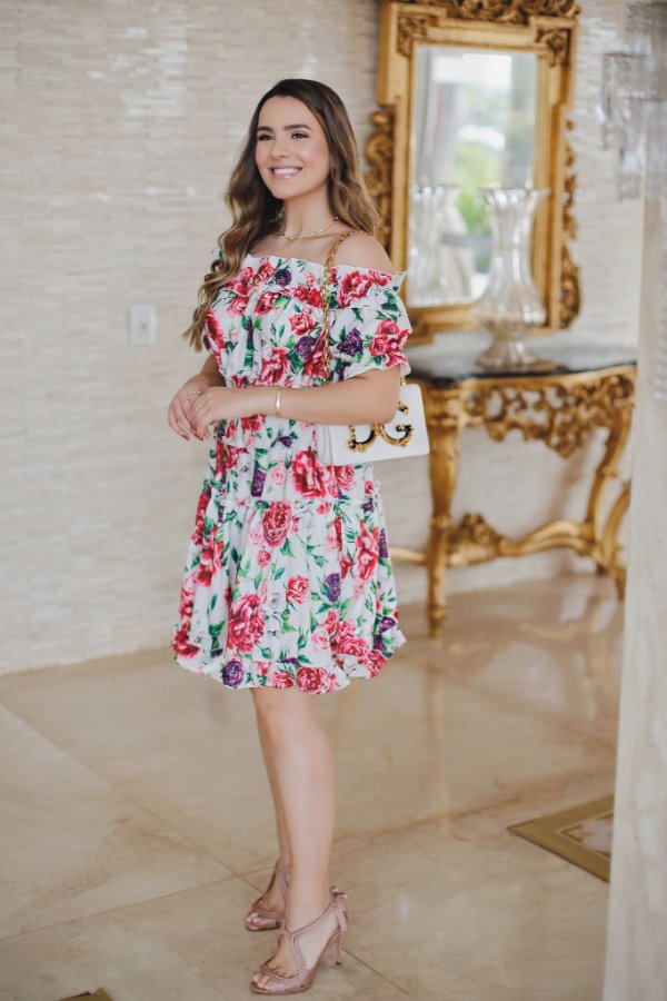 Vestido Zamar Emily Curto