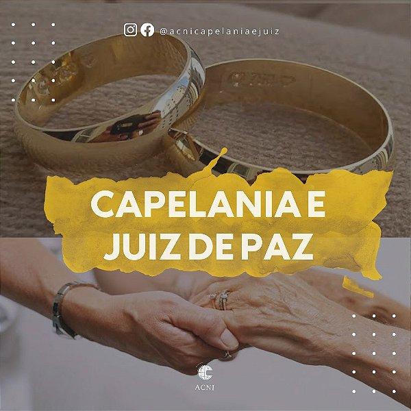 Combo Curso de Capelania + Juiz de Paz