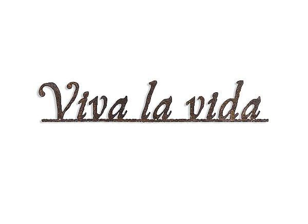FRASE DE FERRO VIVA LA VIDA