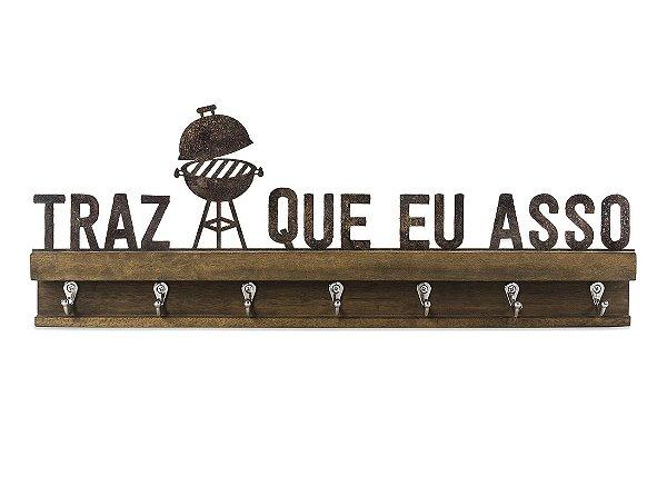"""GANCHO FERRO MADEIRA G """"TRAZ QUE EU..."""""""