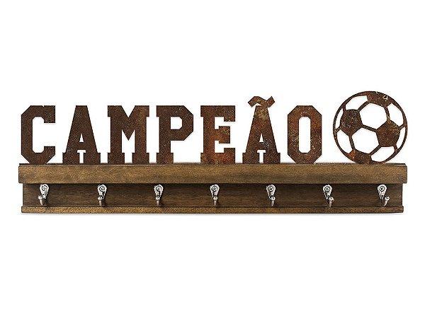 PORTA CHAVES FERRO FUTEBOL CAMPEÃO