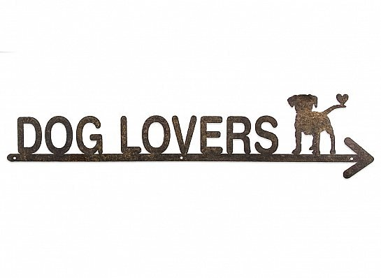 "FLECHA DE FERRO ""DOG LOVERS"""