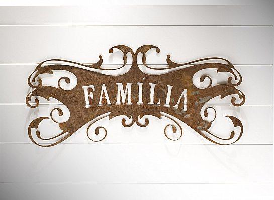 PLACA ROCOCO FAMILIA M