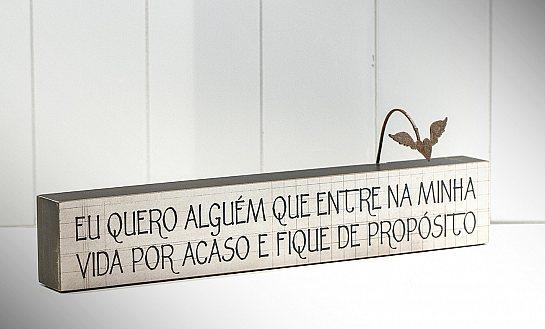 """BLOCO DE PALAVRAS ID """"EU QUERO ALGUÉM QUE..."""""""