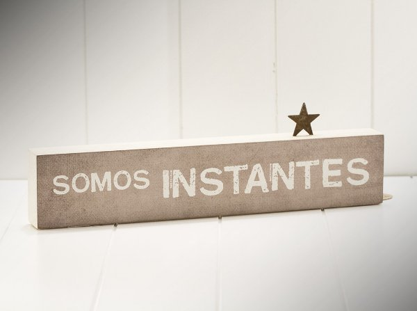 "BLOCO DE PALAVRAS MAD. CLARA ID ""SOMOS INSTANTES..."""