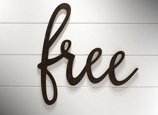 """APLIQUE DE PAREDE """"FREE"""""""