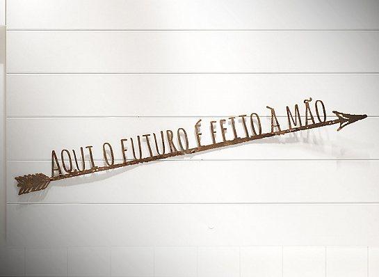 """FLECHA DE FERRO """"AQUI O FUTURO..."""""""