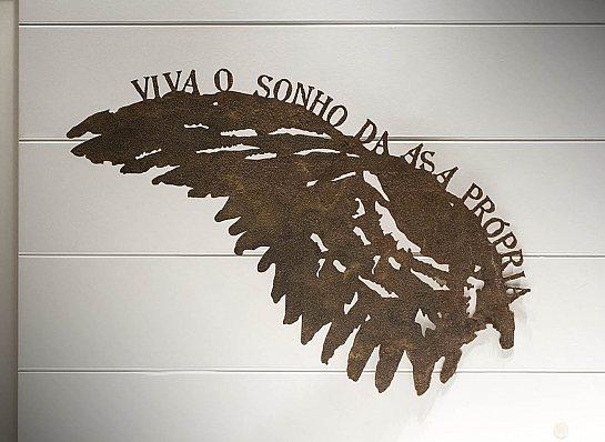 "ASA FERRO FRASE ""VIVA O SONHO..."""