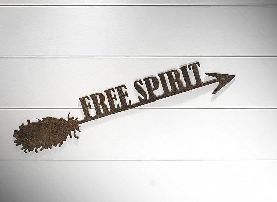 "FLECHA DE FERRO ""FREE SPIRIT..."""