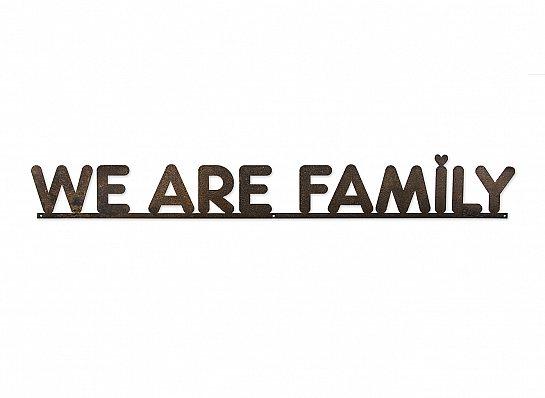 """FRASE FERRO G """"WE ARE FAMILY"""""""