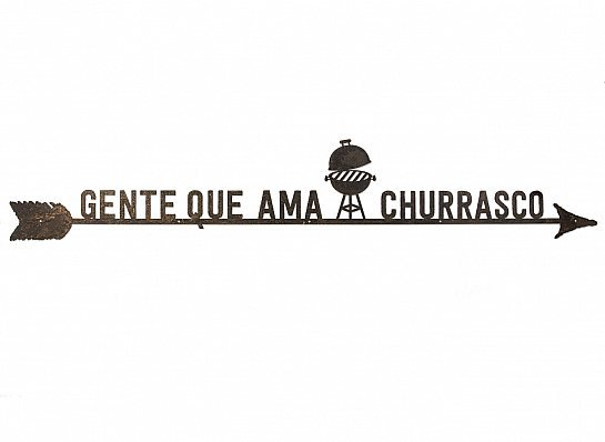 "FLECHA DE FERRO ""GENTE QUE AMA CHURRASCO"""