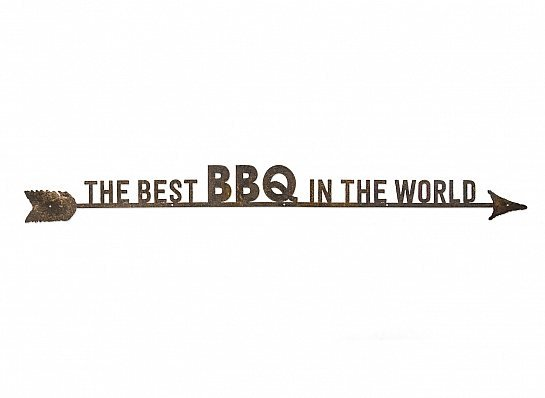 "FLECHA DE FERRO ""THE BEST BBQ"""