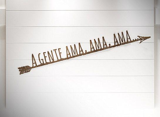 """FLECHA FERRO """"A GENTE AMA, AMA..."""""""