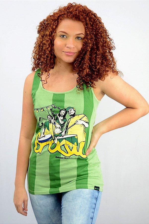 Regata Feminina Brasil D SAMBA