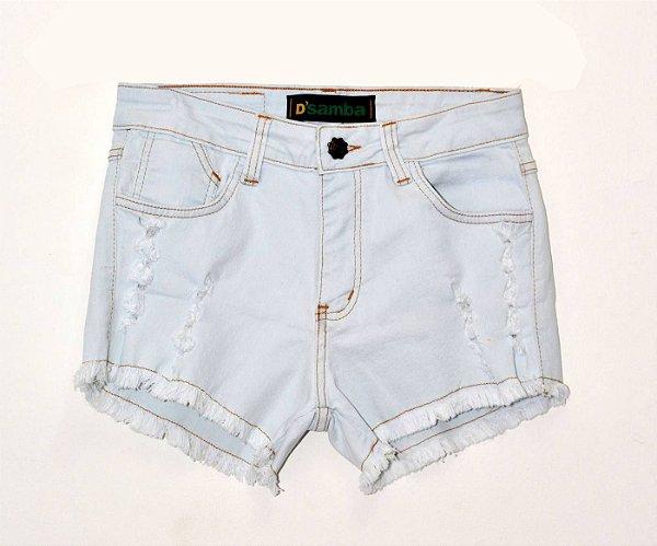 Short Jeans Delavê DS