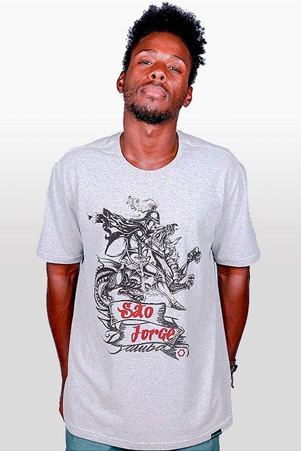 Camisa Masculina Jorge e Dragão D SAMBA