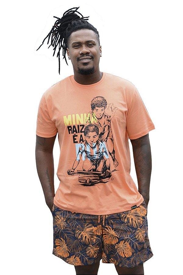 Camisa Masculina Carrinho de Rolimã D SAMBA 21