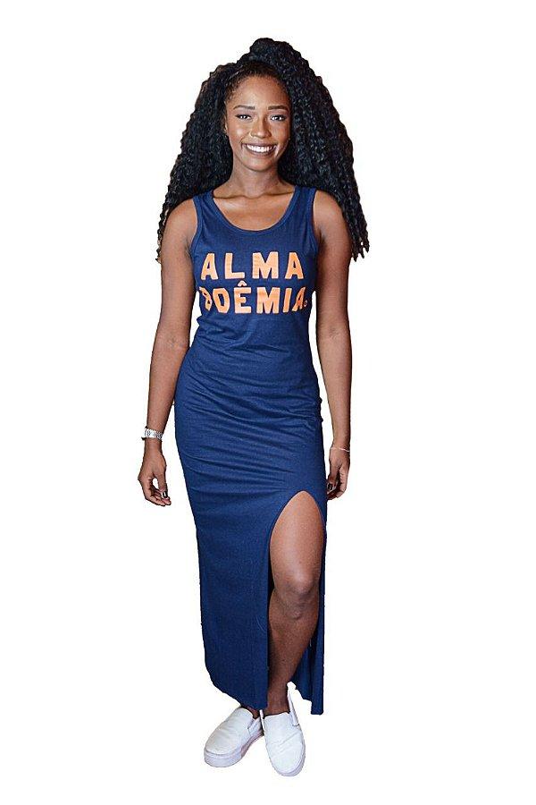 Vestido Feminino Fenda Alma Boêmia D SAMBA 21