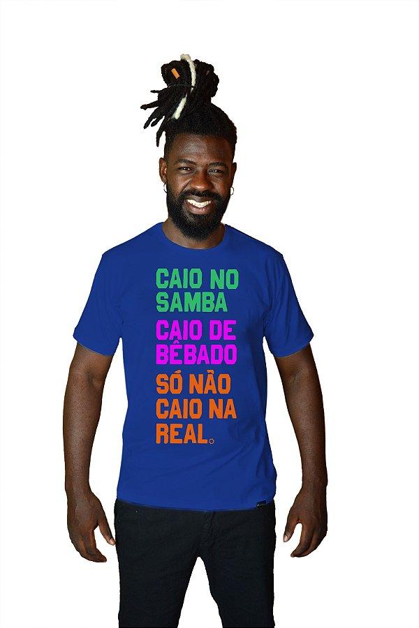 Camisa Masculina Caio no Samba D SAMBA 21