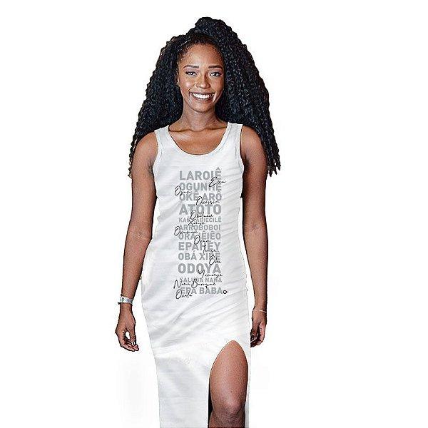 Vestido Feminino Saudação Orixás D SAMBA 21