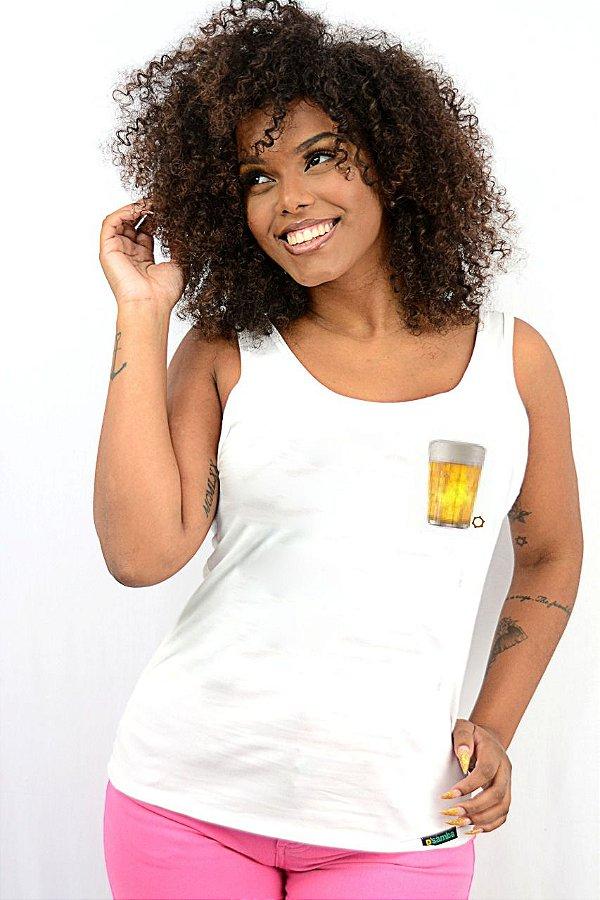 Regata Feminina Cervejinha D SAMBA 21