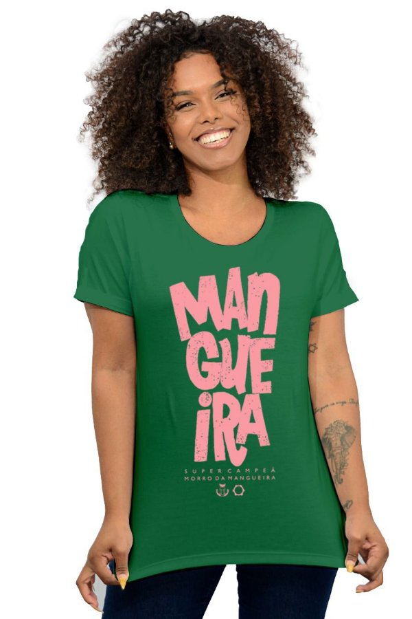 Blusa Feminina Mangueira Verde D SAMBA 21