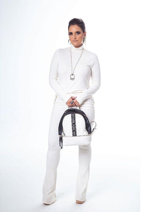 Blusa Cacharrel Basic Off White
