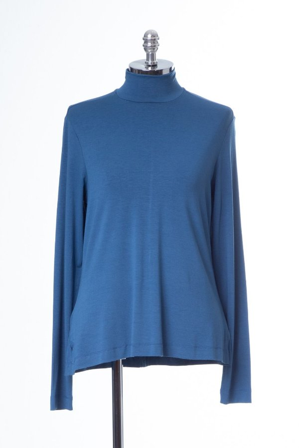 Blusa Cacharrel Basic Azul Denim
