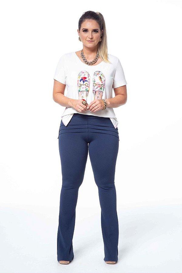 T-Shirt Patch Mule Gucci Bordada