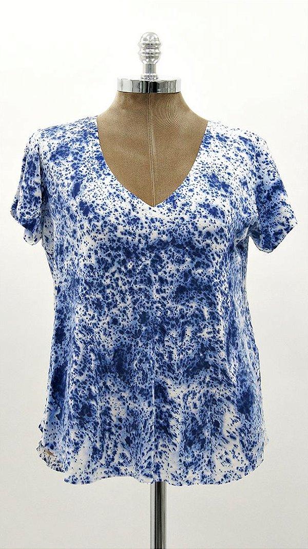 T-Shirt Tie Dye Hortência