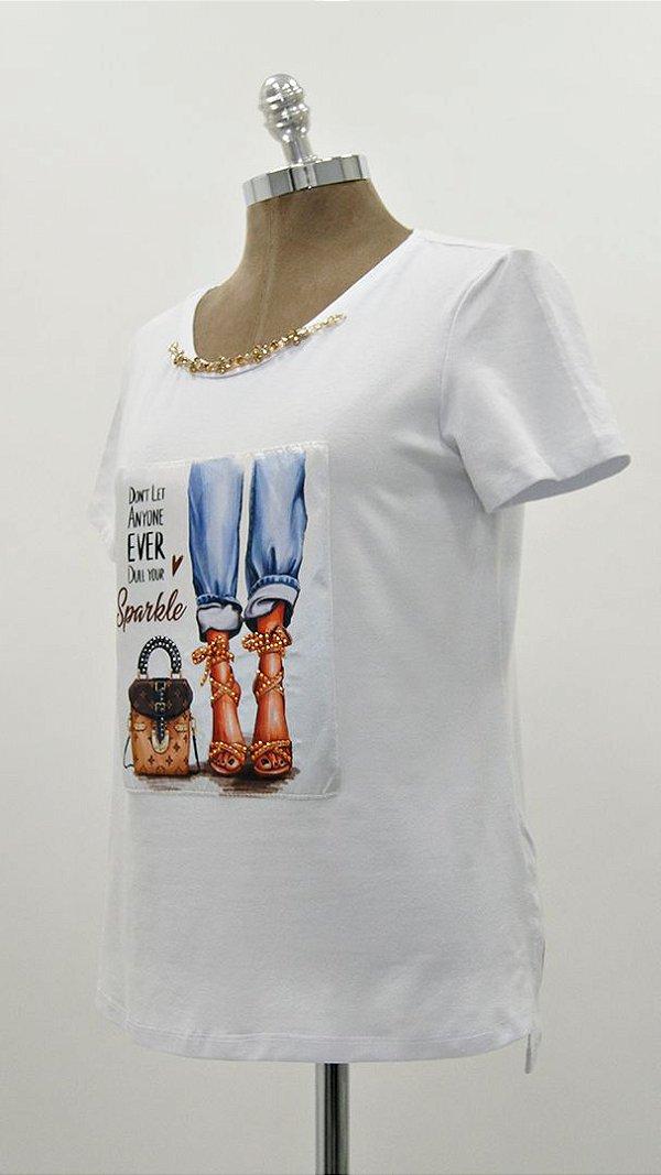 T-Shirt Patch Jeans