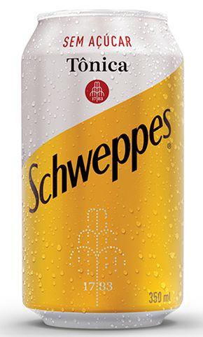 Schweppes Tônica Sem Açuçar 350mL